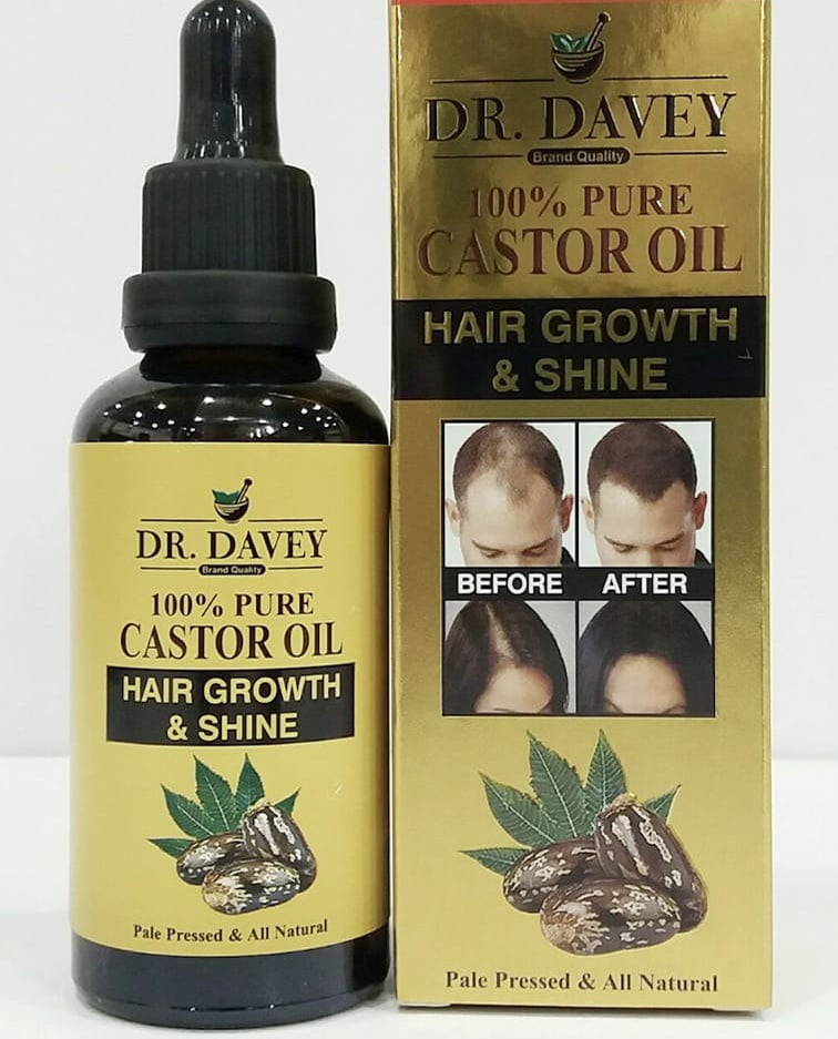 Dr. Davey Castor Oil Pure For Hair Growth And Shine ...