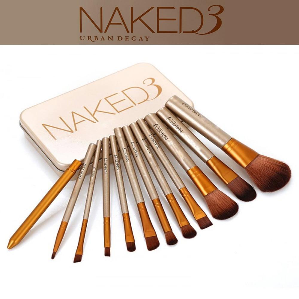 Naked3 Brushes set of 12