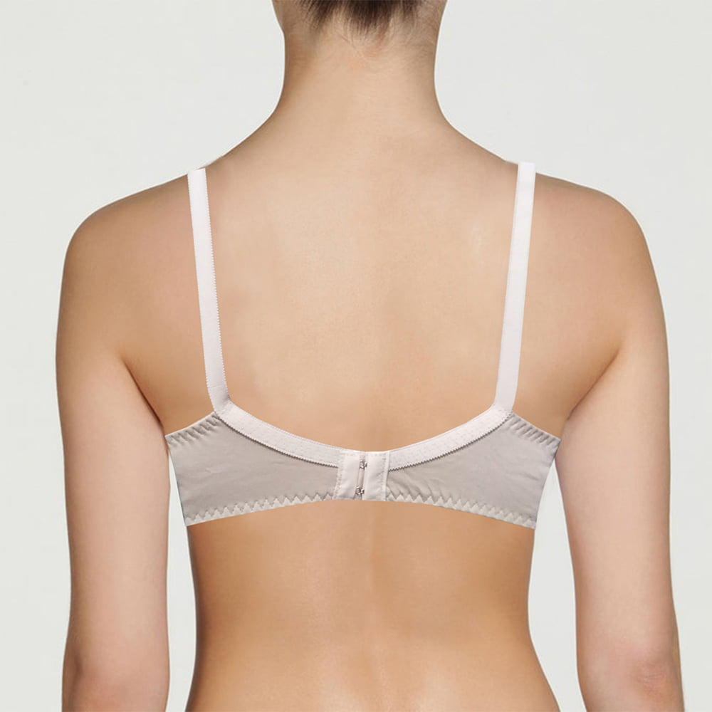 Soft Touch Non-Padded Full Cover Bra Cotton Blended Soft Blouse Brazier (3)