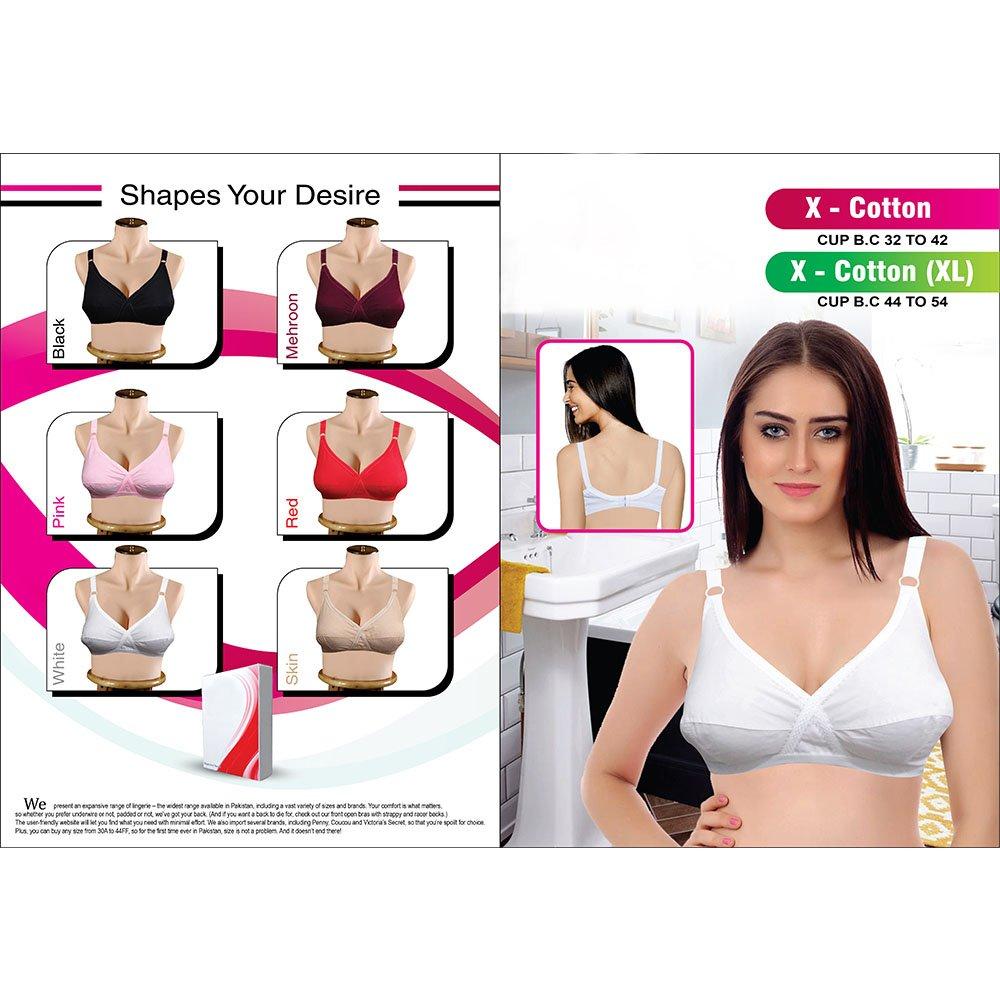 X Cotton Non-Padded Full Cover Cotton Brazier High Quality- Cotton Bra (6)